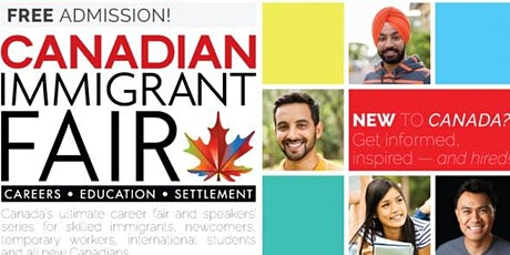 Halifax Canadian Immigrant Fair tickets
