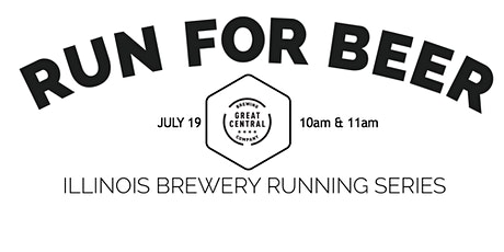 Beer Run -Great Central Brewing- Part of the 2020 IL Brewery Running Series tickets