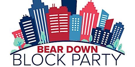 Online: Bear Down Block Party — East Coast Region tickets