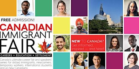 Winnipeg Canadian Immigrant Fair billets