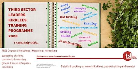 TSL Kirklees Training: Applying for the National Lottery tickets