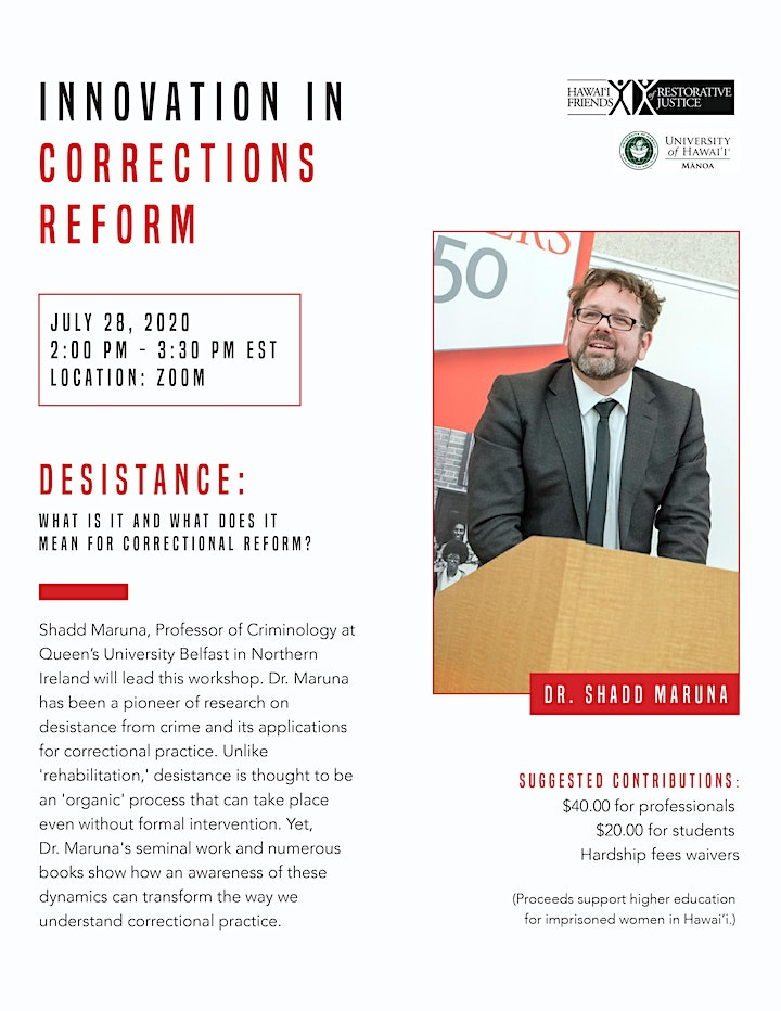 Innovation in Corrections Reform image