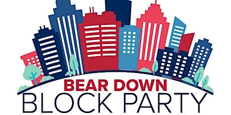 Online: Bear Down Block Party — West Coast Region tickets