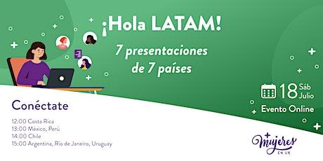 ¡Hola Latam! entradas