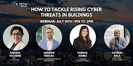 HOW TO TACKLE RISING CYBER THREATS IN BUILDINGS tickets