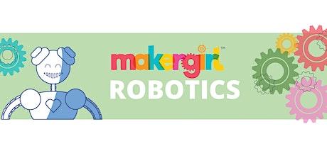 MakerGirl Virtual Session: Robotics tickets