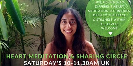 Weekly Online Meditation + Sharing Circle tickets