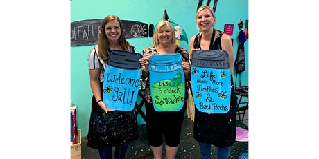 Customizable Mason Jar Cutouts Workshop-Buford tickets