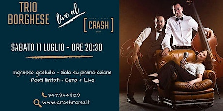 Jazz Do It // Trio Borghese live al Crash Roma biglietti