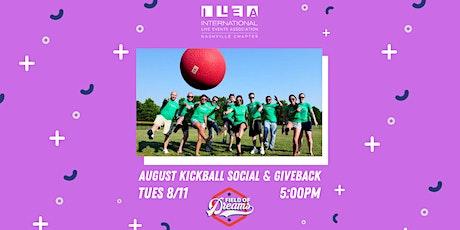 ILEA Nashville Kickball Social & Giveback tickets