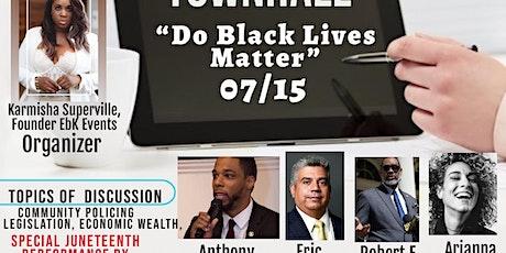 Do BLACK LIVES Matter tickets