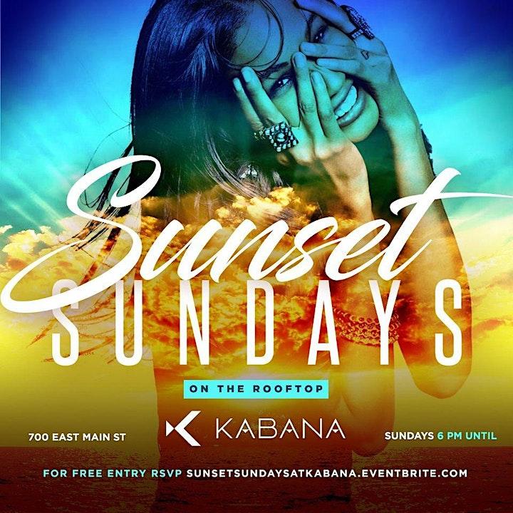 SUNSET Sundays At Kabana Rooftop image