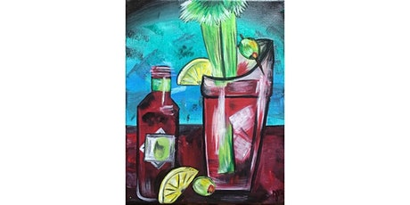 Bloody Mary Brunch Canvas Painting Workshop- Buford tickets