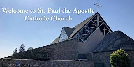 St. Paul the Apostle Mass English Sunday, July 12, 2020 at 5:00pm tickets