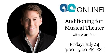 Musical Theatre Auditioning with Alan Paul tickets