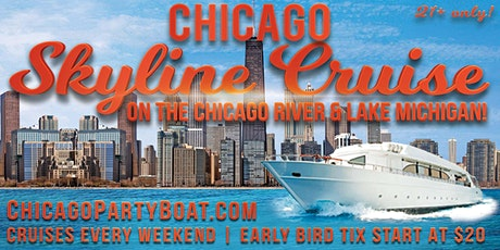 Chicago Skyline Cruise on the Chicago River & Lake Michigan (July 11th,8pm) tickets