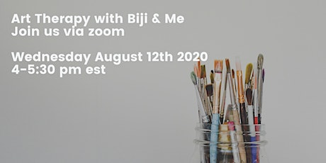 Art Therapy with Biji & Me tickets