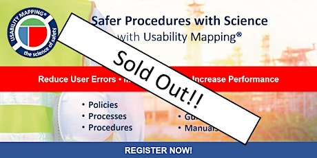 Usability Mapping Online Workshop | 3 hrs a day for 4 days | Timezone AEST billets