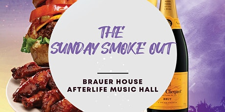 The Sunday Smoke Out at Brauer House - Brunch, Booze & Beats tickets