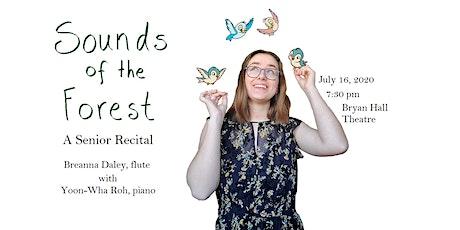 Student Recital: Breanna Daley, flute tickets