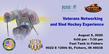 Veterans Business Networking Event and Sled Hockey Experience tickets