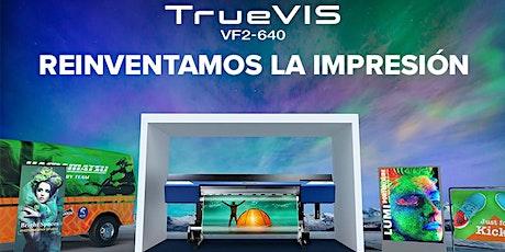Descubra la nueva Roland TrueVIS VF2-640 con tinta verde TR2 entradas