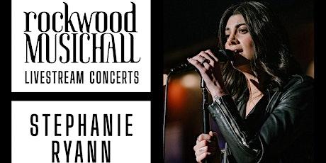 Stephanie Ryann  - FACEBOOK and INSTAGRAM LIVE tickets