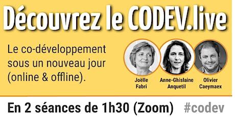 Codev.live tickets