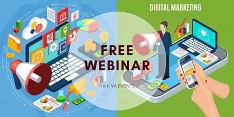 FREE Digital Marketing Webinar Tickets