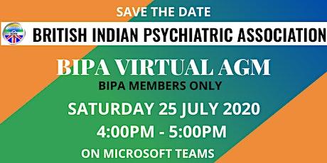 BIPA Virtual AGM tickets