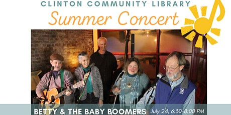 Summer Concert: Betty & the Baby Boomers tickets