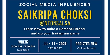 Build your Personal Brand  & Up your Instagram Game! tickets