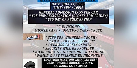 SMD 1st ANNUAL CAR SHOW 250$ Cash PRIZE GIVEAWAY! tickets