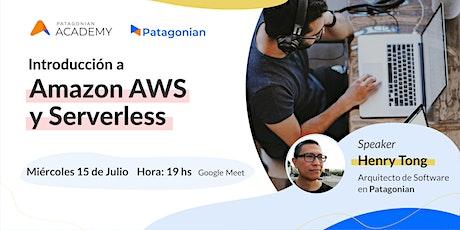 Introducción a Amazon AWS y Serverless tickets