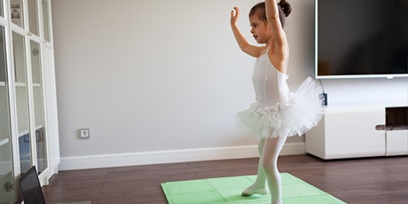 Live Virtual Wellness: Kids Ballet with Christina Marushok tickets