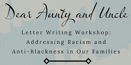 AARC Workshop: Dear Aunty & Uncle tickets