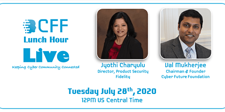 CFF Live with Jyothi Charyulu, Director of Product Security, Fidelity tickets