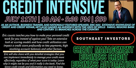 Credit Management, Business Credit, & Business Automation WORKSHOP tickets