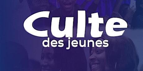 Culte des jeunes  - Samedi 11 juillet  à 16h00 tickets