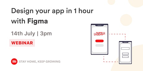 English Webinar - Prototype your app in 1 hour with Figma | Le Wagon SP bilhetes