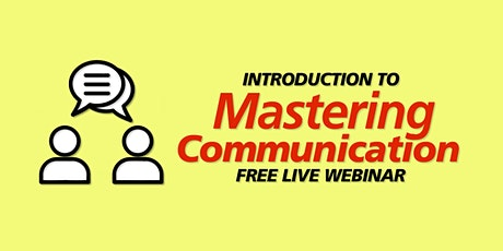Introduction to Mastering Communication in the Workplace tickets