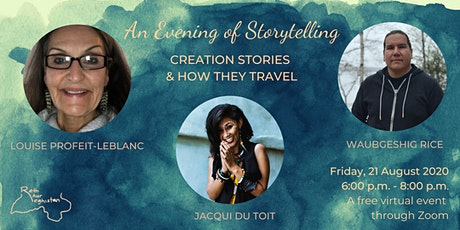 An Evening Of Storytelling: Creation Stories And How They Travel tickets