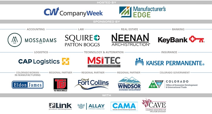 2020 Colorado Manufacturing Awards image