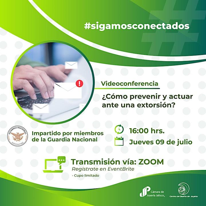 Imagen de Videoconferencia: Extorsión