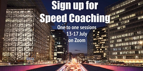 Speed Coaching Online tickets