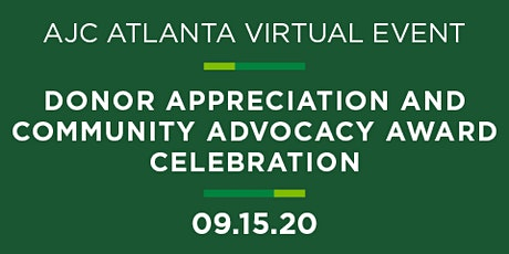 Donor Appreciation and Community Advocacy Award Celebration tickets