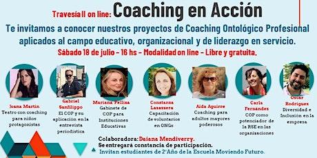 Coaching en acción - Proyectos de aplicación de Coaching Ontológico Prof. billets