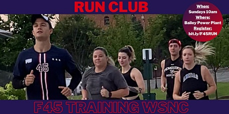 FREE Run Club with F45 Training WSNC & GSO tickets