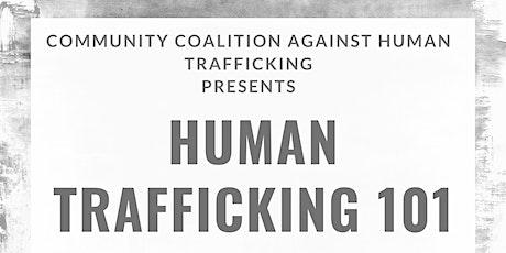 Human Trafficking 101 Training tickets