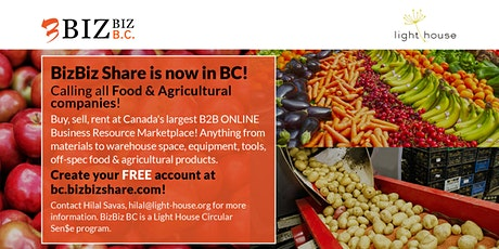 BizBiz BC - Supporting the Food & Agriculture Sectors tickets